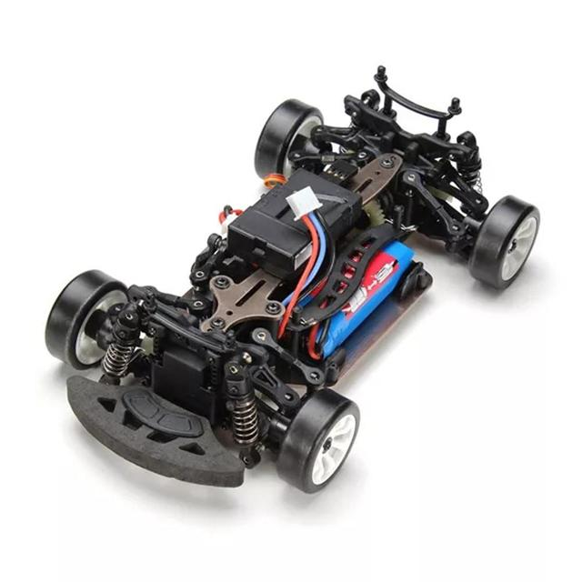 Wltoys A252 1:24 4WD Electric 4x4 Drive Remote Control Car 2.4GHz Racing Planning Off-road Drift Car Speed 35km Alloy Material 3