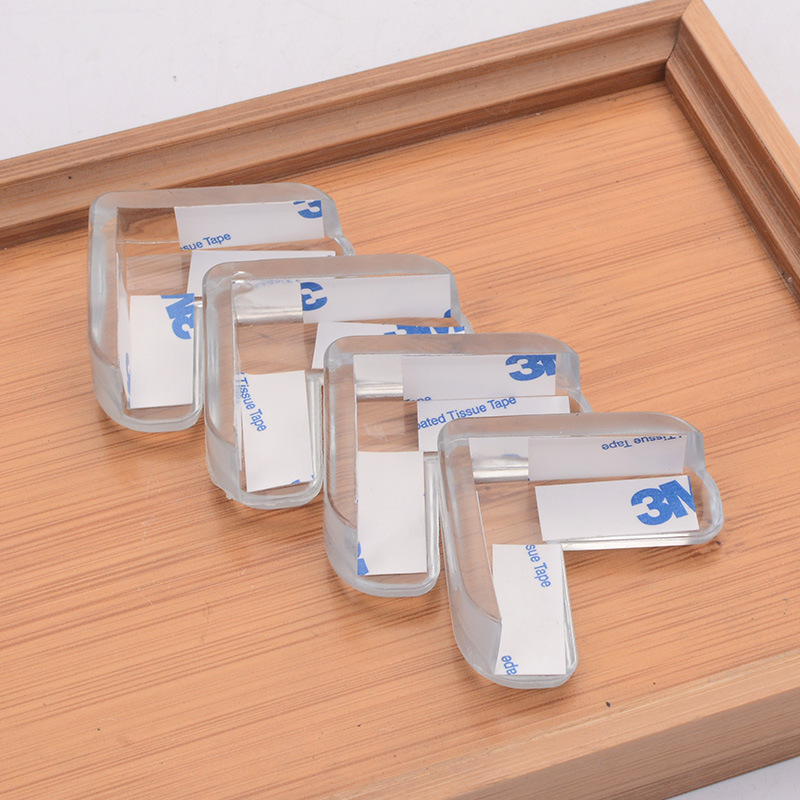 Купить 4 шт детский силиконовый защитный чехол для защиты углов стола