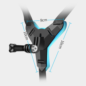 Image 4 - Full Faceคางหมวกกันน็อกสำหรับGoPro Hero 8 6 5 SJCAMรถจักรยานยนต์คางหมวกกันน็อกขาตั้งอุปกรณ์เสริมสำหรับกล้องgoPro Hero 8