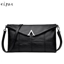 Fashion Women Messenger Bags Females Bucket Bag Leather Crossbody Shoulder Bag Handbag Satchel(China)
