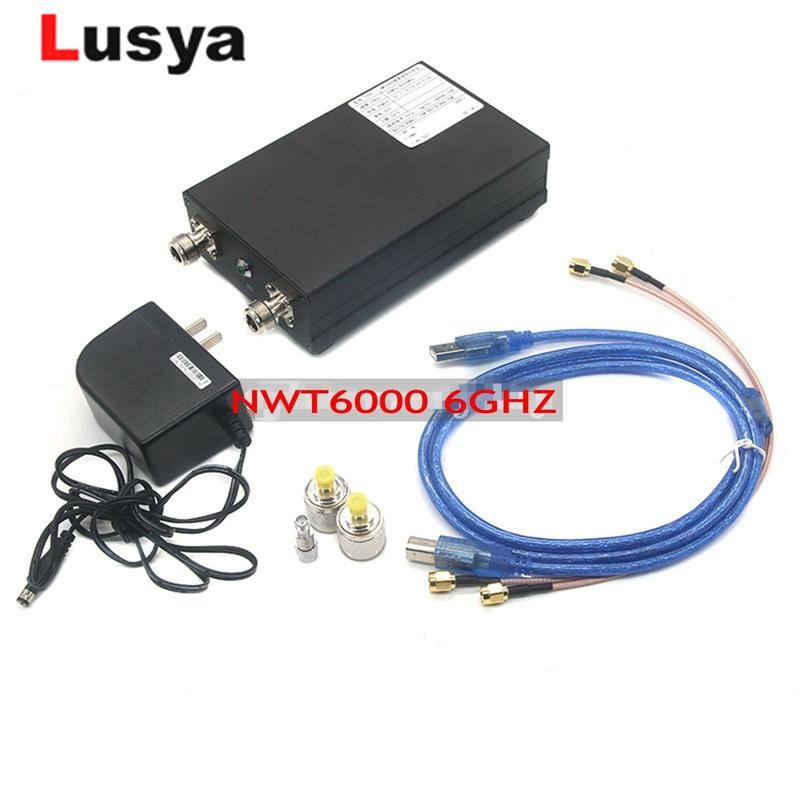 Ultime NWT6000 25 M-6G di Frequenza Generatore di Segnale di Spazzamento di Spettro Analizzatore di Rete