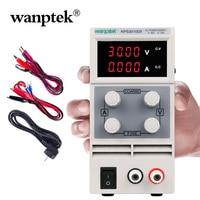 Wanptek 100% Orginal Brand Adjustable DC Laboratory Switching Power Supply 60V 5A 0.01V/0.001A 30V 10A Lab power supply Source