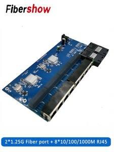 Optical-Media-Converter Fiber-Port Ethernet-Switch-Fiber Gigabit RJ45 PCB UTP And 2-Sc