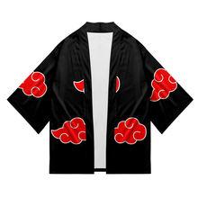 Аниме Косплей костюмы Наруто халат одежда Узумаки Акацуки Харуно