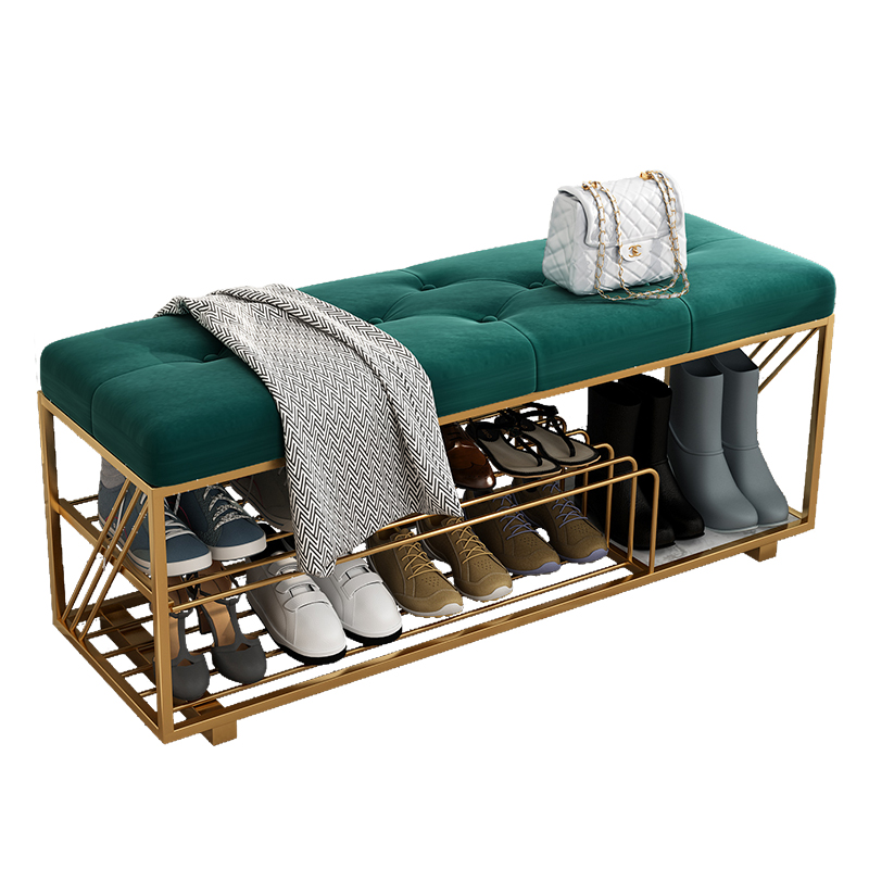 Nordic Shoe Stool Home Entrance Porch Shoe Cabinet Storage Bed End Sofa Bench Stool Creative Shoe Stool