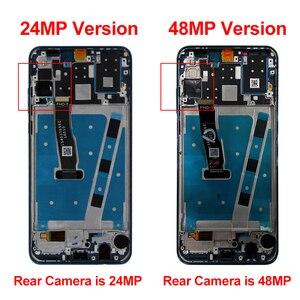 Image 2 - מקורי עבור Huawei P30 לייט Lcd תצוגת נובה 4e מגע מסך Digitizer MAR LX1 LX2 AL01 החלפת חלק