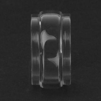 Transparent Pyrex Glass Tube Glass Tank Replacement Electronic Cigarette Vape Accessories for Blitzen 5ML Vaporizer Atomizer