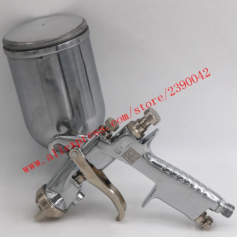 Original Import HVLP W101 134G Hand Manual Paint Spray Gun W-101 Spray Gun 0.8/1.0/1.3/1.5/1.8mm Furniture Car Paint Pistol