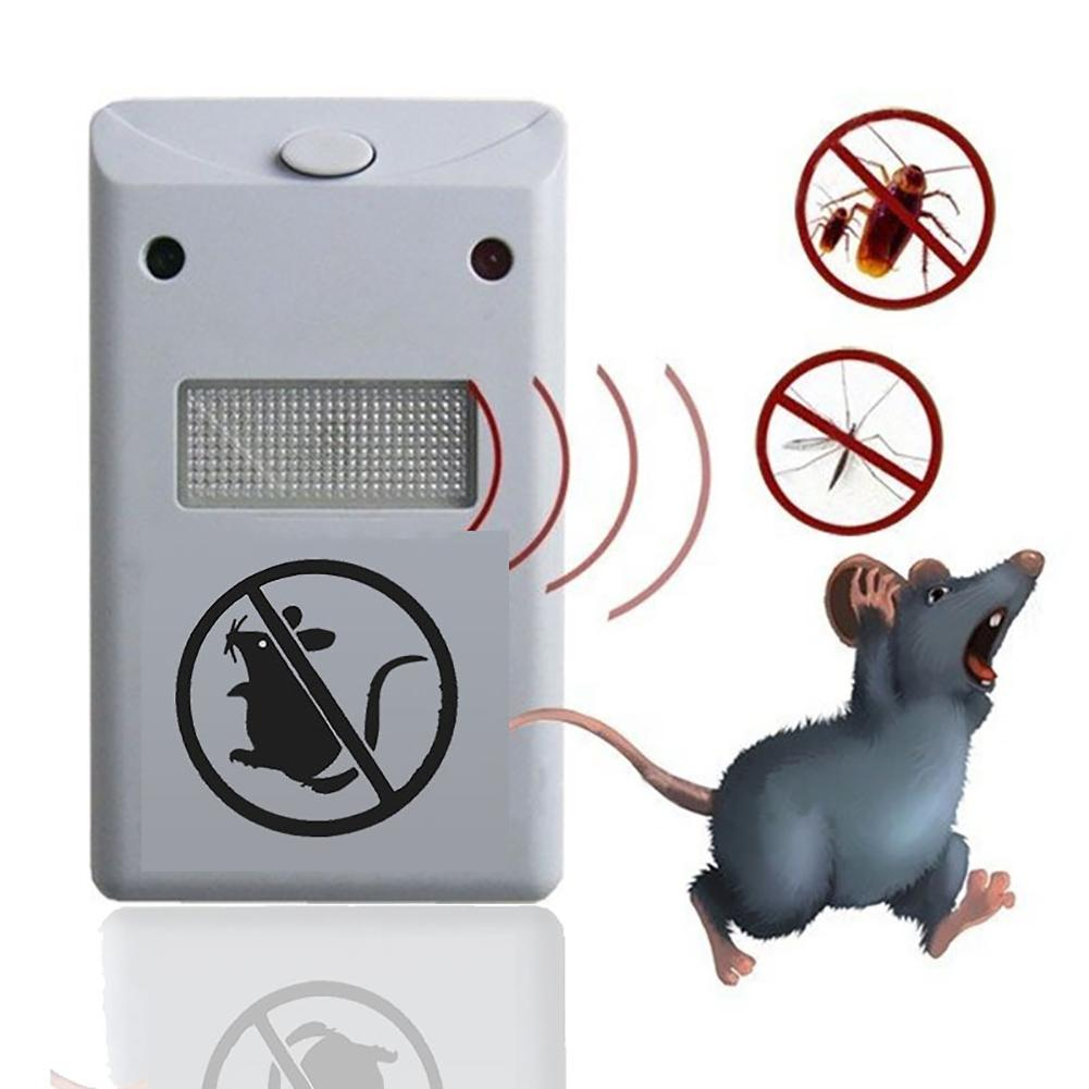 Electric Ultrasonic Pest Repeller Anti Mosquito Killer Home Indoor Mouse Rat Repellent Pest Controller Insect Repeller EU Plug