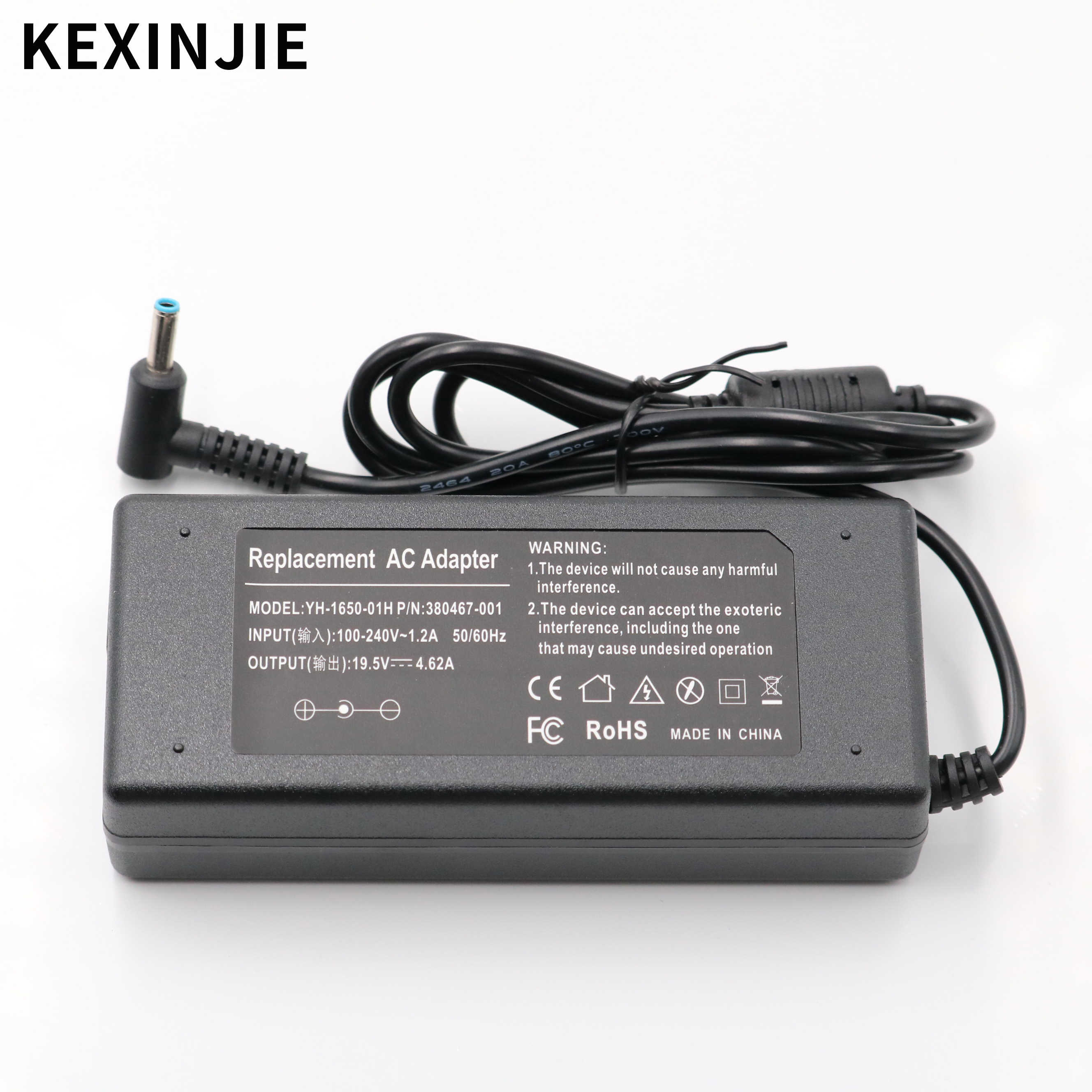 Easy Style 90W Laptop AC Adapter Charger For HP Pavilion 17-e127sf Pavilion 15 Notebook pc 15-e029TX 15-e026tx 14-e035tx 14-e022tx 14-e021tx m4-1010tx ENVY 17-j106tx 15-j105tx M4-1009TX