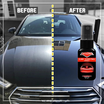 Ceramic Spray Coating Car Polish Spray Sealant Top Coat Quick Nano-Coating 30/50ML Quick Coat Ceramic Waterless Wash Shine