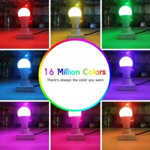 Image 4 - GLEDOPTO LED ZIGBEE ZLL 12W RGB + CCT glühbirne Bunte birne AC100 240V RGBCCT 2700 6500K led lampe kompatibel mit Amazon echo plus