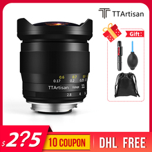 TTArtisan lente ojo de pez F2.8 de 11mm, lente de ojo de pez para cámaras Leica m mount como Leica M M M240 M3 M6 M7 M8 M9 M9p M10 preventa