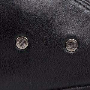 Image 4 - 新デザイン男性 100% 本革のファッション野球キャップ/キャスケットベレー帽/タクシー運転手の帽子/ゴルフ帽子フラット男性スライド高品質 HL041