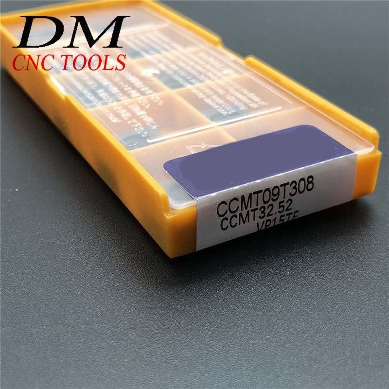 10pcs SCMT09T308 VP15TF CNC carbide turning inserts SCMT32.52 cnc machine tools
