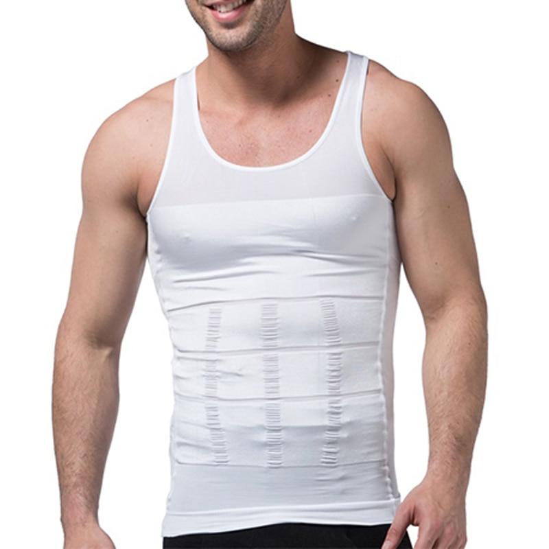 Утягивающий жилет, мужское нижнее белье для похудения, корсет для коррекции талии, мужской утягивающий жилет, утягивающий живот, Корректиру...