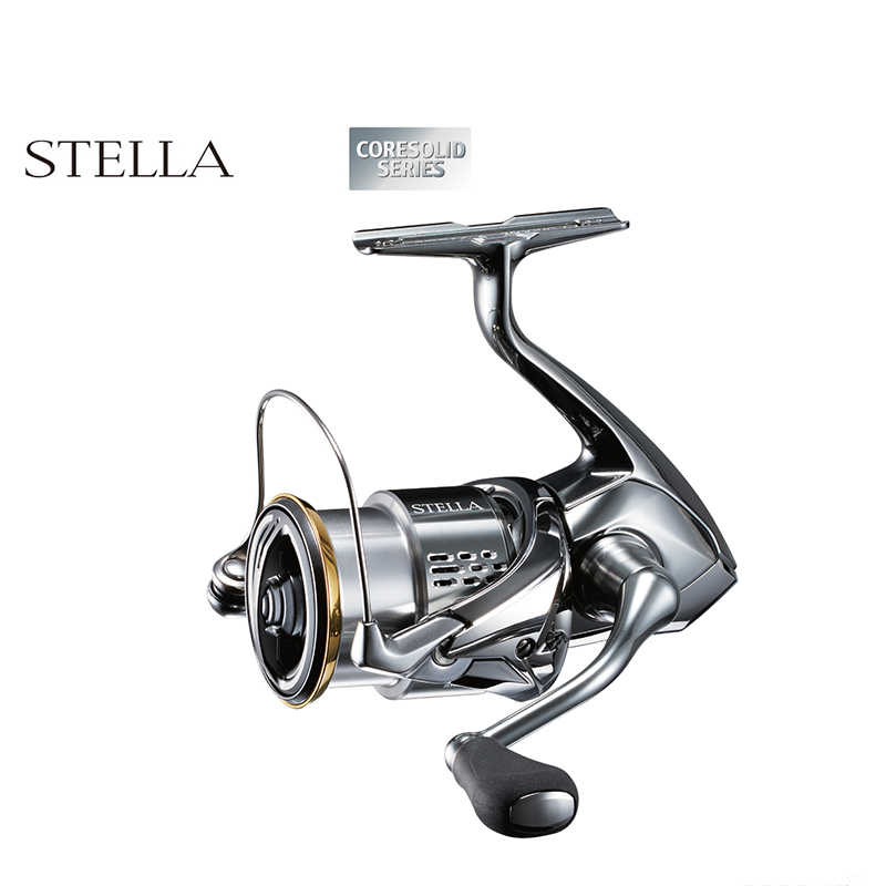 Shimano Stella Fj 1000 2500 3000 4000 5000 Stille Drive Saltwater Spinning Reel Fishing Made In Japan