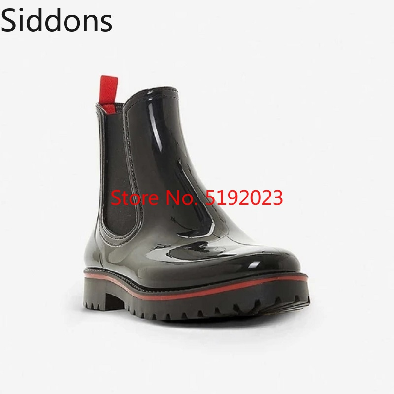 Winter Fashion Men Outdoor Casual Boots Work Adult Walking Rubber Waterproof Chelsea Boots Male Casual Zapatos De Hombre D172