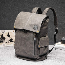 New Luxury Leather School Backpack Waterproof Leather Backpack For Laptop Men Travel Teenage Student Backpack Bag Male genuine leather padieoe new fashion men luxury male bag high quality waterproof laptop messenger travel backpack school bag
