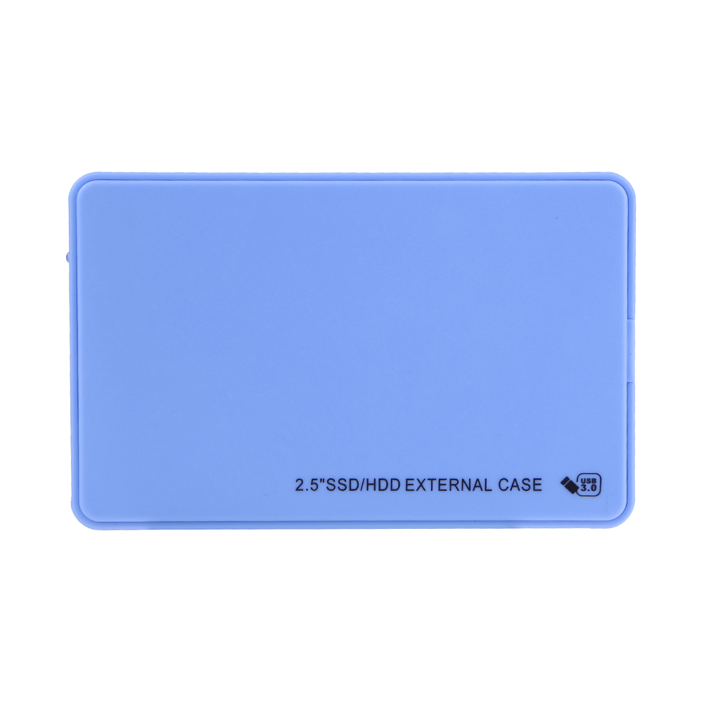 HDD SSD Case 2.5 Inch SATA To USB 3.0 Adapter Hard Disk Drive Box External HDD Enclosure For Samsung Seagate SSD 1TB 2TB HDD