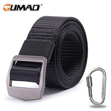 купить Waistband Tactical Belt Military Outdoor Nylon Men Waist Support Strap Sports Hunting Training Hiking Combat Metal Buckle Army дешево