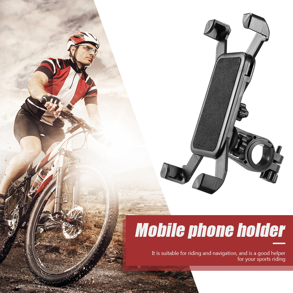 Bicycle Phone Holder For iPhone Samsung Motorcycle Mobile Cellphone Holder Bike Handlebar Clip Stand GPS Mount Bracket