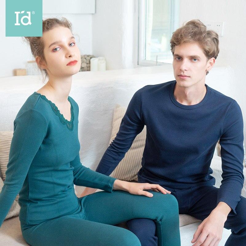 Pajamas-Set Homewear Winter Cotton Casual Autumn