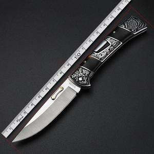 Image 5 - XUAN FENG field folding knife high hardness sharp tactical knife camping hunting short knife self defense tactical knife