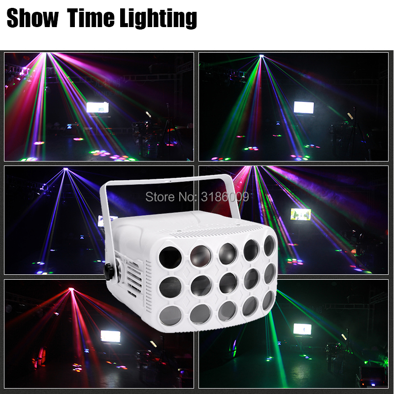 New Arrival Colorful Butterfly Light 3 Floors Big Power Good Effect Use Well For DJ Home Entertainment Party KTV Nightclub Dance