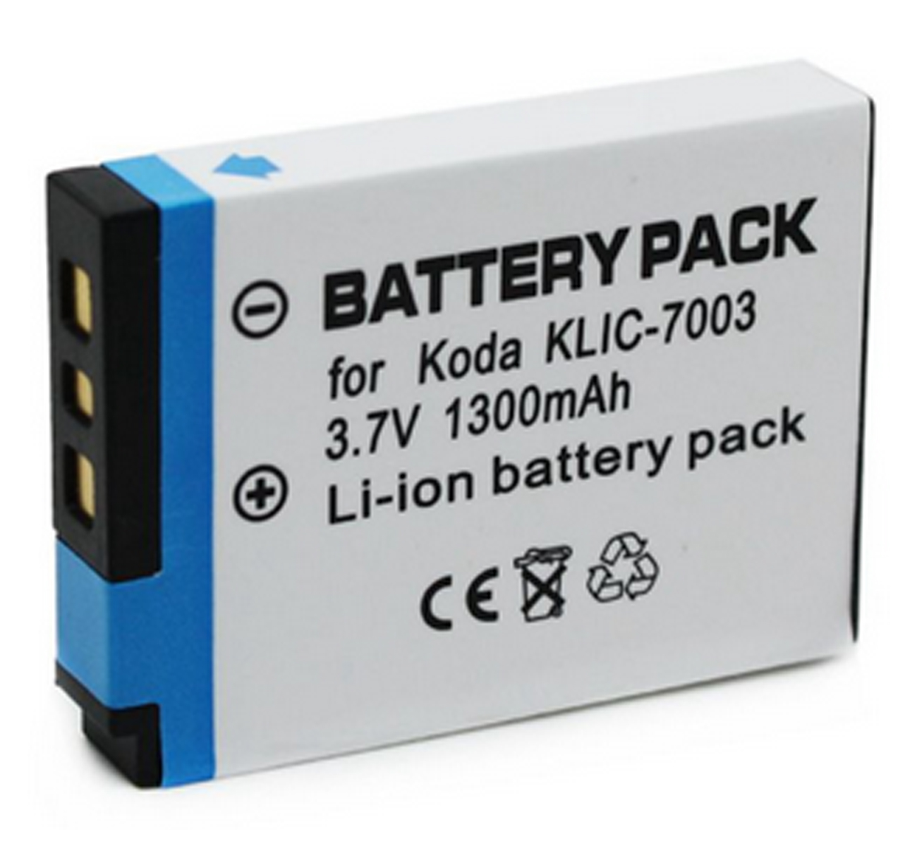 Аккумуляторный блок для цифровой камеры Kodak KLIC-7003, 2 K 7003 и Kodak EasyShare MD81, M380, M381, M420, V803, V1003, Z950