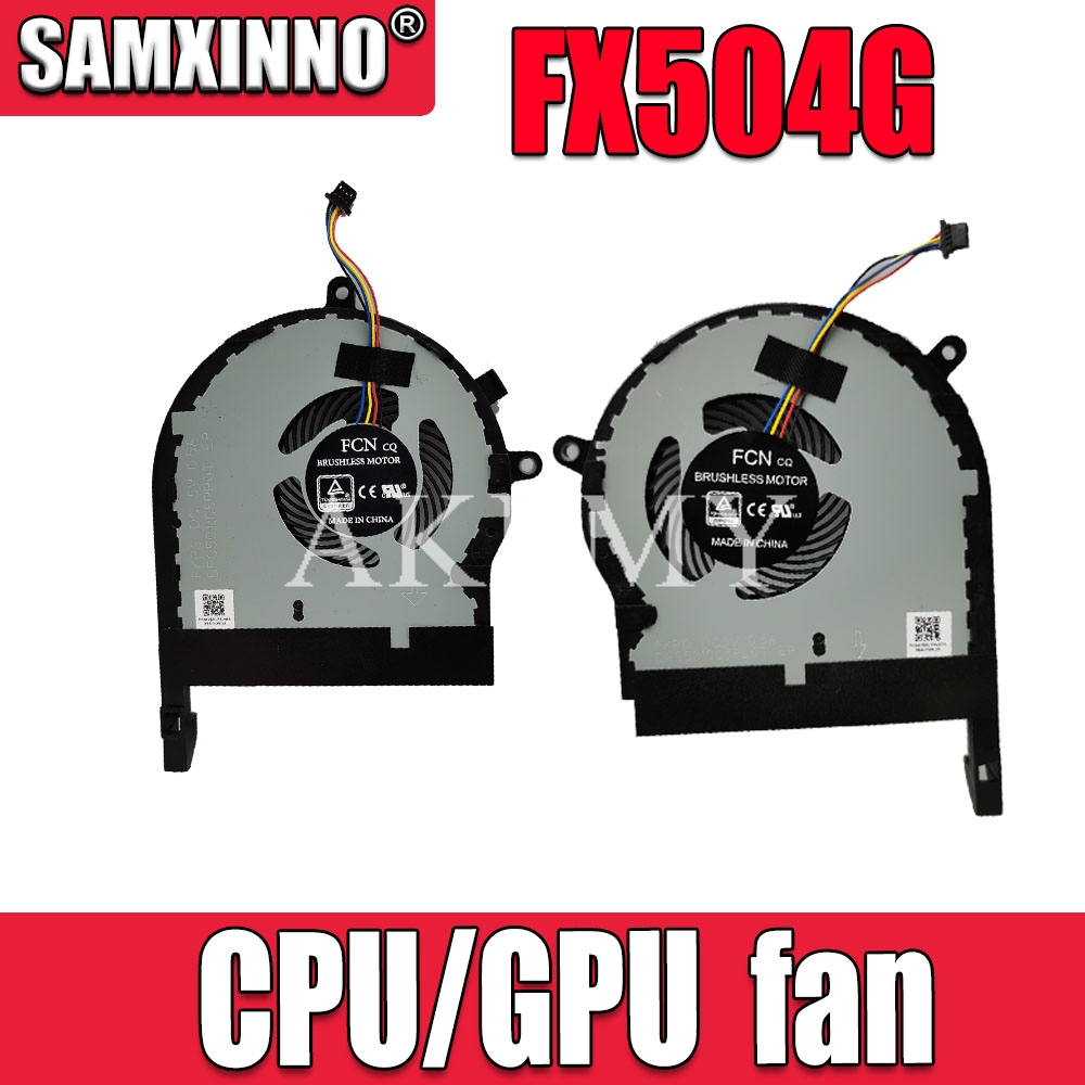 New original cpu gpu cooling Fan cooler for Asus ROG TUF Gaming FX504 FX504G FX504GE FX504GM FX504GD FX504FE image