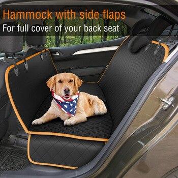 Pet Dog nosidełko z siedzeniem dla kota pokrywa wodoodporna Pet Car tylna mata typu koc hamak ochraniacz na poduszki dla psów składane koce