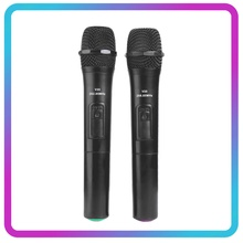 VODOOL 1/2 Cái Thông Minh Micro Không Dây Mic Cầm Tay Với Bộ Tiếp Nhận USB Để Hát Karaoke Bài Diễn Văn Loa Âm Thanh Micro