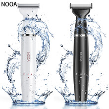 Cordless Rechargeable Beard Hair Trimmer Electric Shaver for Men Waterproof Razor Painless Body Clipper shaving machine