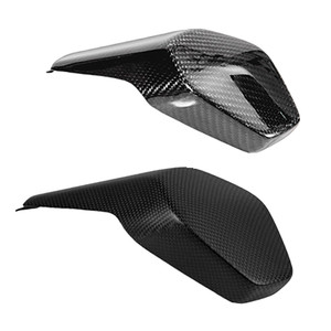 For Ducati Panigale V4 V4S 2018 2019 New 100% Carbon Fiber Motorcycle Rear seat cover (Replacement) 3K Gloss/Matt