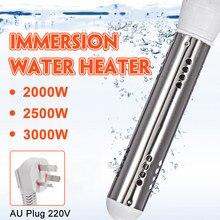 2000-3000w 220v que flutuam a piscina portátil do banheiro da suspensão da imersão do aquecimento de água da caldeira do calefator de água elétrico