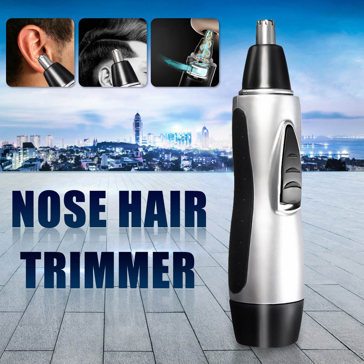 Portable Electric Nose Ear Face Hair Removal Trimmer Shaver Clipper For Razor Neat Face Cleaner Remover Facial Care Tool