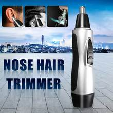 Portable Electric Nose Ear Face Hair Removal Trimmer Shaver Clipper for Razor Ne