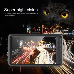 3 zoll Auto DVR 120 Grad Weitwinkel Dash Cam Dual Objektiv 1080P WIFI G-sensor Auto Digital video Recorder Mit Nachtsicht