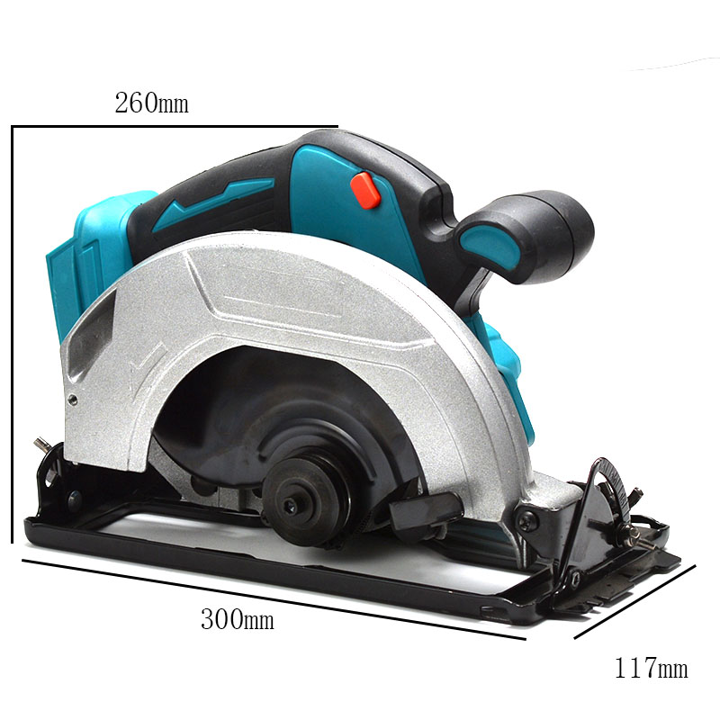 Passage For Multifunction Makita Machine Tools Circular Power 5000RPM Dust 180mm Cutting 18V Electric Saw Battery
