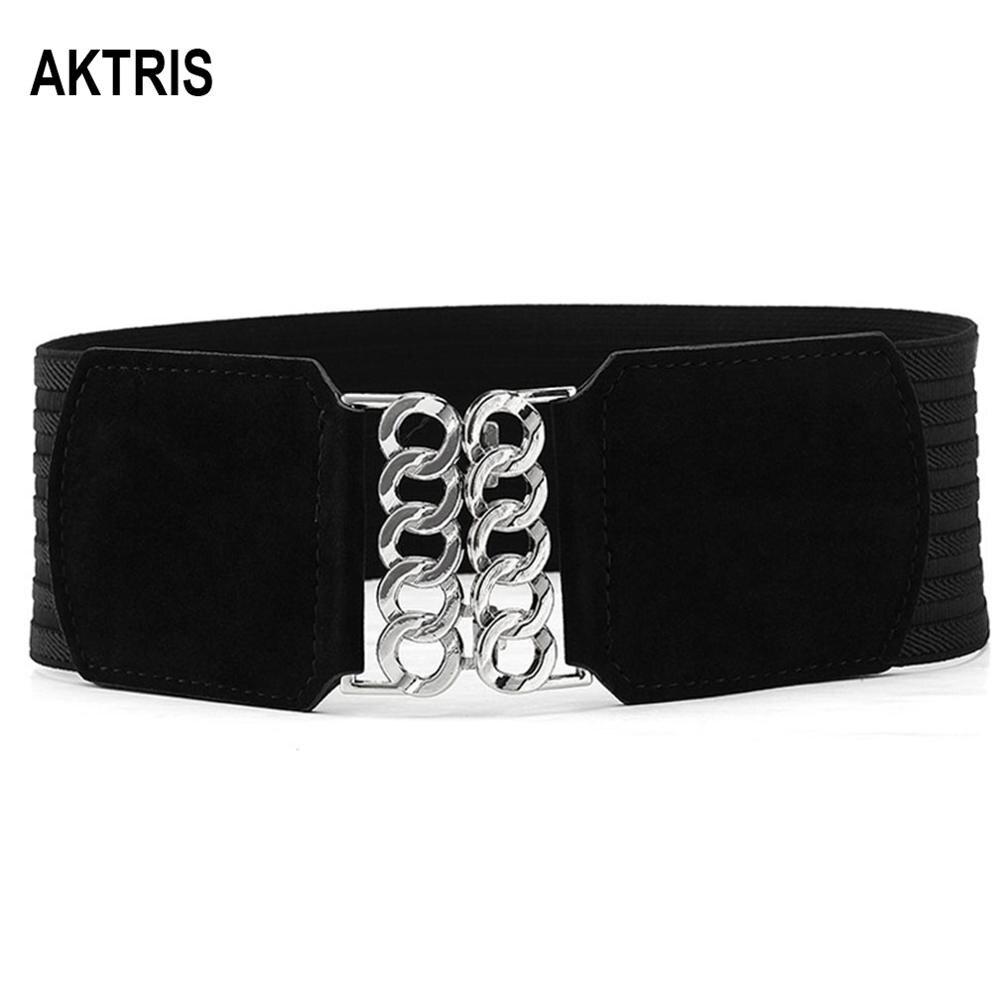 AKTRIS Ladies Fashion Waistband Belts Overcoat Decorative Women's Genuine Leather Belt Cummerbunds For Women Accessories FCO210