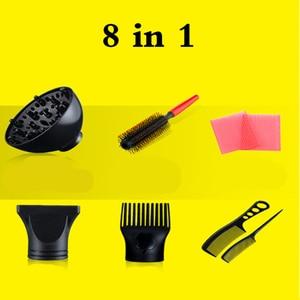 Image 5 - Mạnh Mẽ Salon Chuyên Nghiệp Máy Sấy Tóc Thổi Máy Sấy Điện Máy Sấy Tóc Nóng/Gió Lạnh Với Không Khí Thu Thập Vòi Phun D40