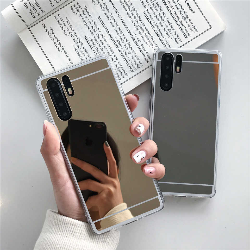 Mirror TPU Case For Samsung Galaxy Note 10 9 8 5 4 3 S10 Plus S10E S9 S8 S7 Edge J2 J5 J7 J4 J6 Prime 2018 Cover Phone Cases