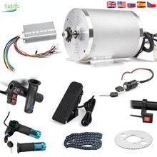 72V 3000W E-Bike Conversion Kit Bldc Mitte Antrieb Motor Bike Benzin/3 Geschwindigkeit/Display drossel Elektrischer Motor Für Elektrische Roller