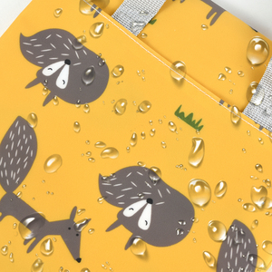 Image 3 - SLAIXIU Diaper Storage Bag  Reusable Waterproof Fashion Print Wet/Dry Bag Nappy Bags Travel Nappy Big Capacity Mummy Diaper Bag