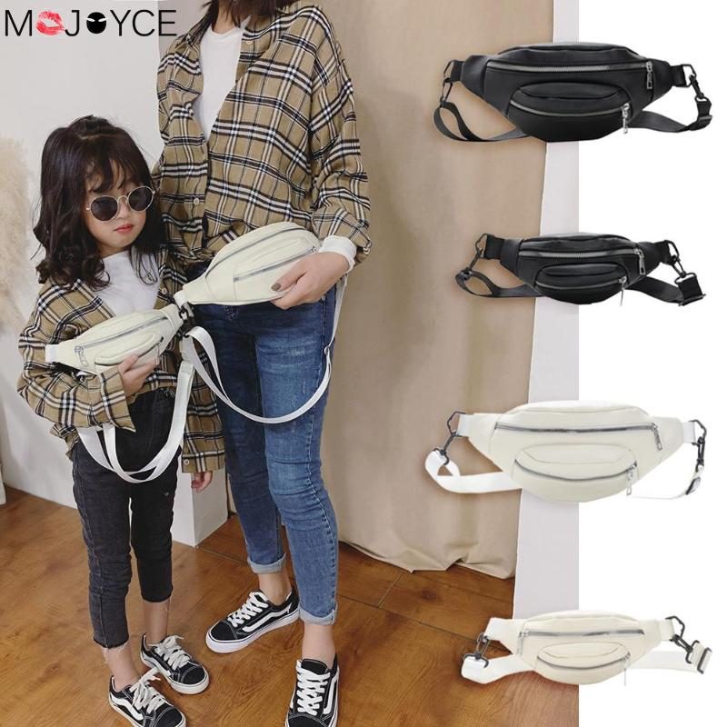 Waist-bags For Women Bolsa Feminina PU Leather Chest Bag Parent-child Waist Belt Purse Shoulder Crossbody Bag Waist Bags