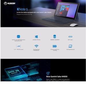 Image 2 - ALLDOCUBE KNote5pro 11,6 Zoll windows10 Gemini See N4000 Dual Core Tablet PC 6GB RAM 128GB ROM WiFi 1920*1080