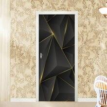 Дверные наклейки Самоклеящиеся 3d настенные для гостиной спальни