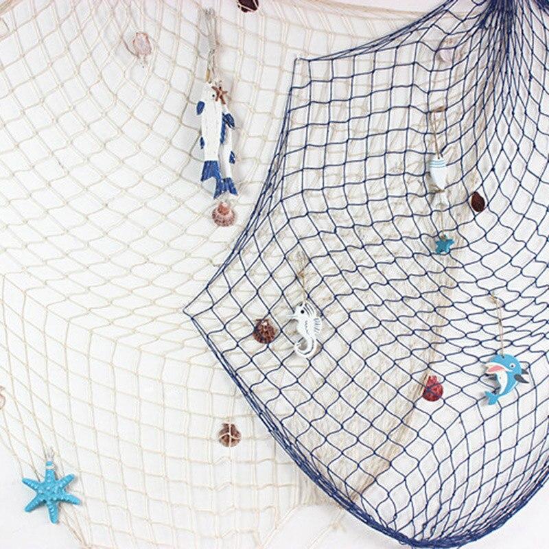 Estilo marino mediterráneo suave decoración decorativa red de pesca tejida a mano carcasa flotante decorativa QP2 INJORA 2 uds Metal Pedal y caja de receptor para 1:10 RC Rock Crawler coche Axial Scx10 SCX10 II 90046 Jeep Wrangler Shell cuerpo