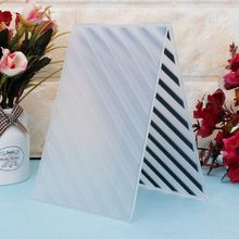 Embossing-Folder-Template Plastic Scrapbook Card-Paper Craft Photo-Album for DIY Diagonal